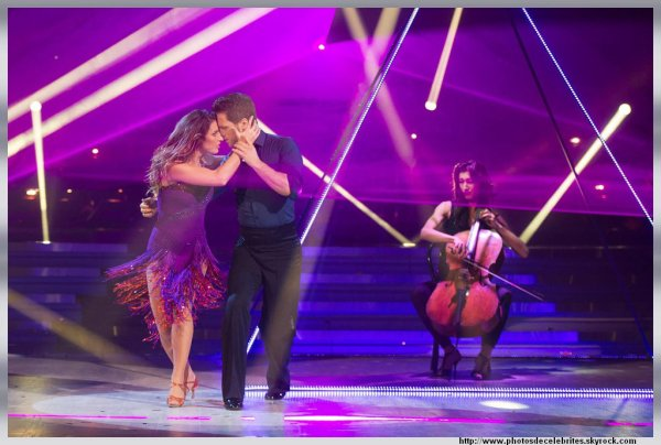 DANSE AVEC LES STARS 4,PHOTOS LAETITIA MILLOT DU 9.11.2013