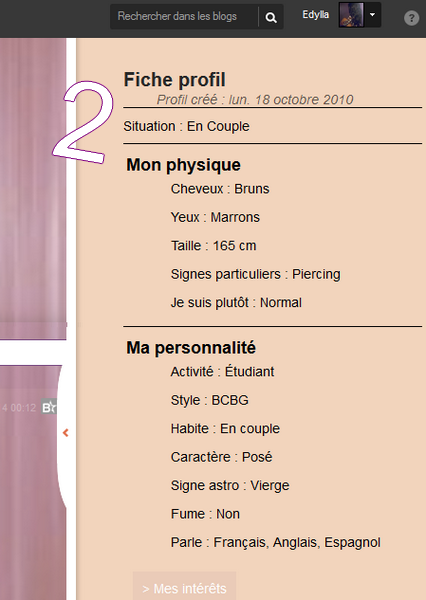 Comment s'afficher en couple, c�libataire (...) sur son PROFIL. #SituationSentimental