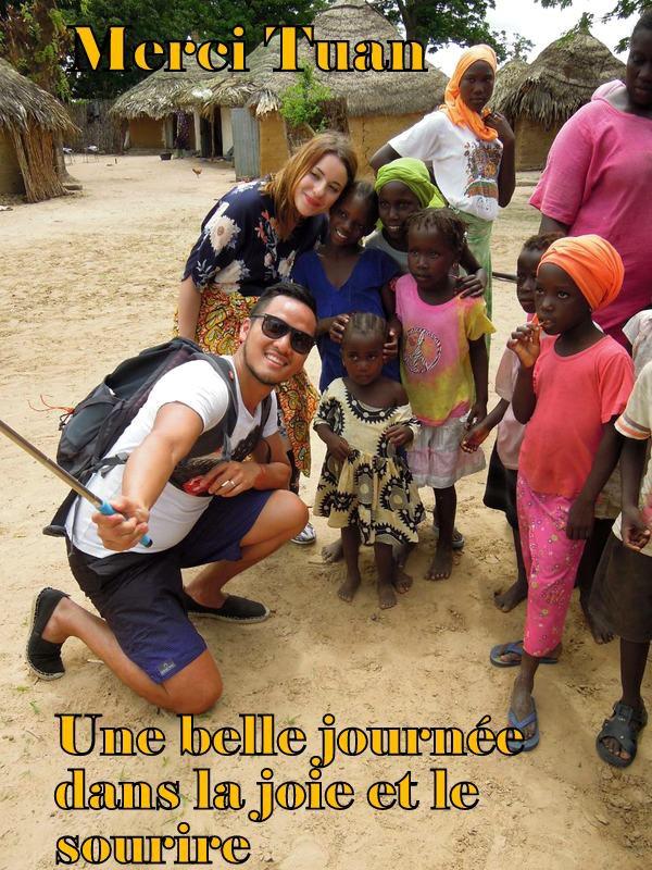 JOURNEE DECOUVERTE BROUSSE ET VILLAGE AU D�PART DE L'HOTEL ROYAL BAOBAB SOMONE SENEGAL