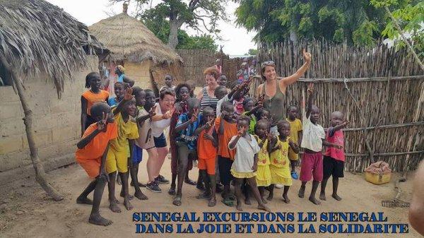 EXCURSIONS EN BROUSSE AU DE L'HOTEL PALM BEAUCH SALY SENEGAL