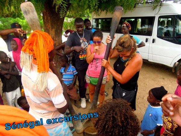 Un beau s�jour avec nos amis de l'hotel royal baobab baobab Somone Senegal