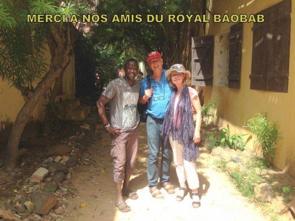 JOURNEE GOREE LAC ROSE AU D�PART DU LOOKEA ROYAL BAOBAB SOMONE