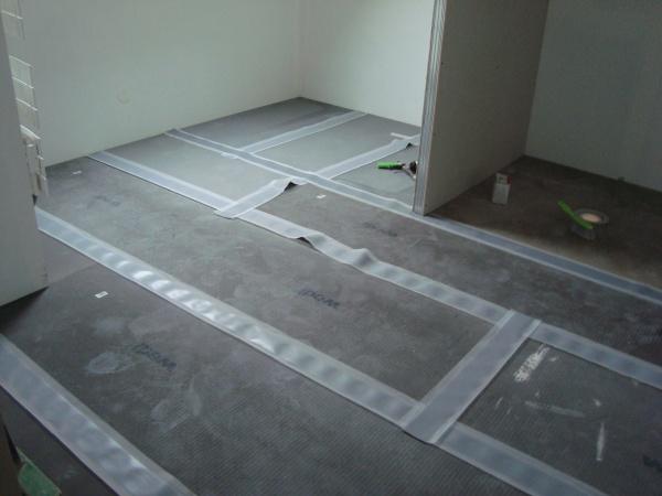 Plaque wedi sol salle de bain joints bienvenue chez nous for Plaque salle de bain
