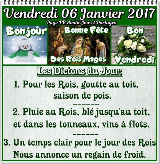 BONNE FETE D'EPIPHANIE 2017 (l)