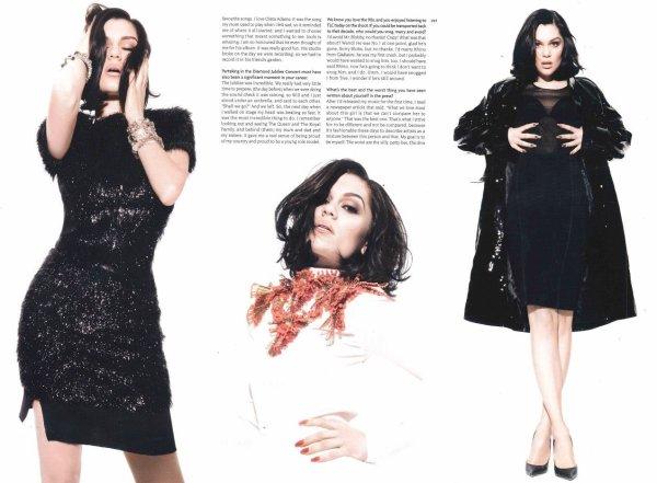 """Découvrez le photoshoot complet de Jessie J pour le magazine """"The Hunger""""."""