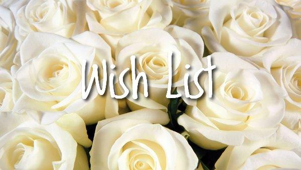 Wish List 2016
