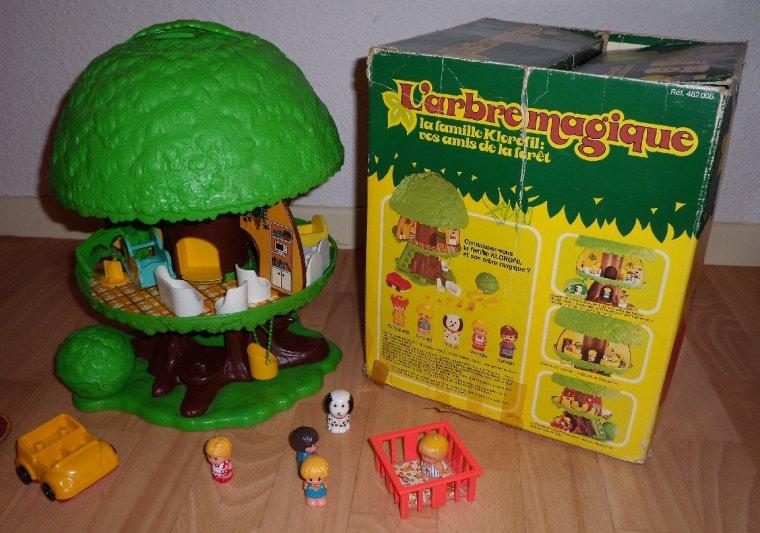 L 39 arbre magique bienvenue dans les ann es 1990 for Arbre maison jouet