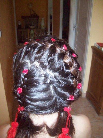 ma coiffure pour la communion aux filles blog de meli76490. Black Bedroom Furniture Sets. Home Design Ideas