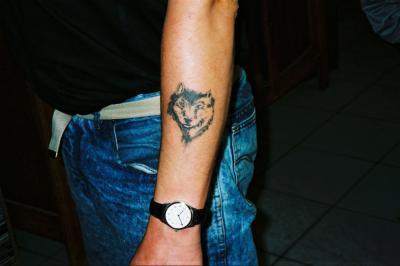 Tete de loup tatouage pi rcing - Tete de loup tatouage ...