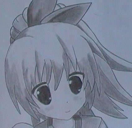 Dessin manga avec son chat griffon dessins - Fille manga a dessiner ...