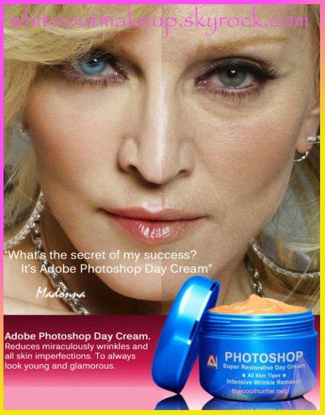 Madonna (Retouche photo)
