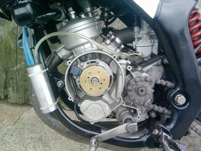 moteur yamaha dt - dt 86 TOP alu , proto 103 moteur am6