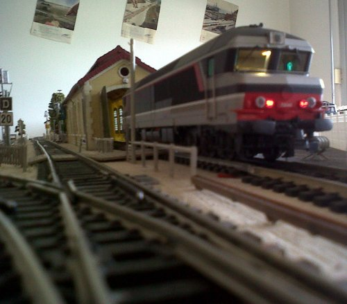 Nouvelle locomotive la CC 172040