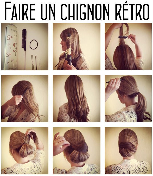 chignon simple a faire beau ou pas ?