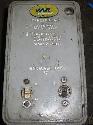 """Recherche """"PRECIPHONE"""" VAR pour refabrication"""