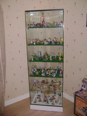 ma vitrine de gashapons collection d 39 objets dbz. Black Bedroom Furniture Sets. Home Design Ideas