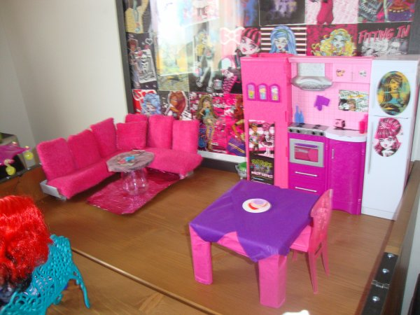 décoration maison monster high