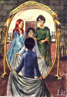 Le miroir du ris d entr e dans le monde de harry potter for Le miroir du desir