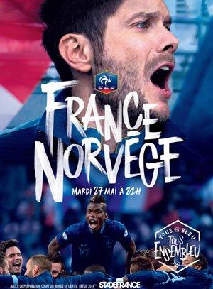 France / Norvège au Stade de France