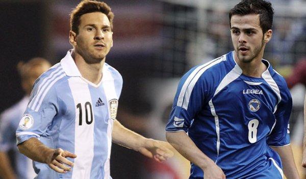 L'Argentine l'emporte face � la Bosnie !