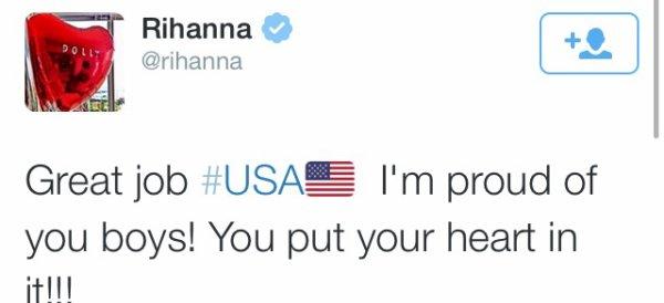 USA / Belgique : Les stars tweet !