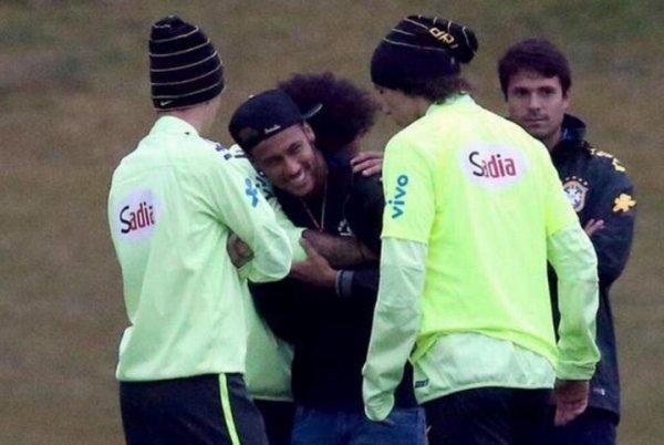 Neymar craque !