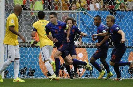 Les Pays-Bas remportent la petite finale