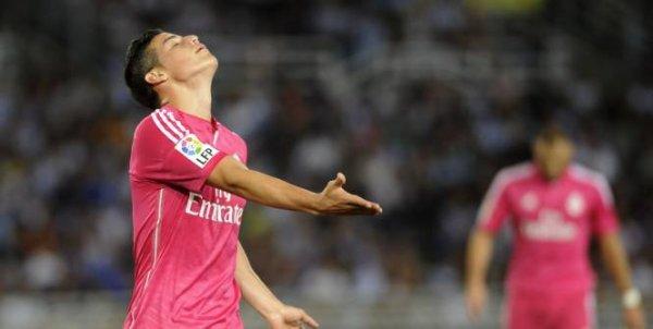 Le Real Madrid vaincu.