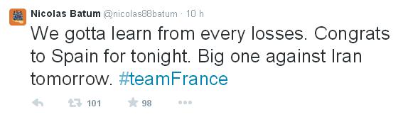 Basket: la défaite de la France !