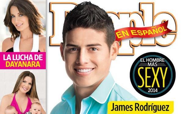 JAMES RODRIGUEZ, élu homme le plus sexy du monde !