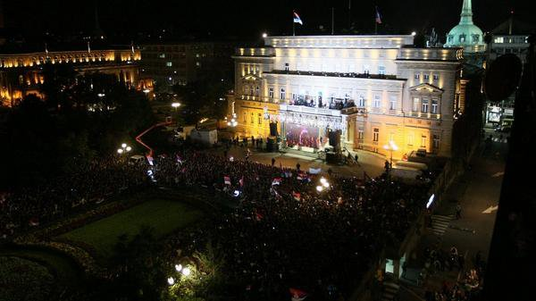 Les serbes plut�t bien accueillis !