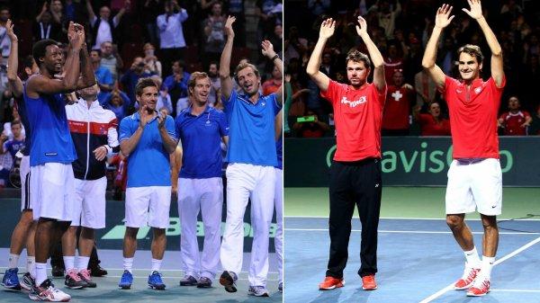 Coupe DAVIS: France-Suisse en finale !