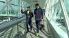 Le FC Bar�a arrive � Paris