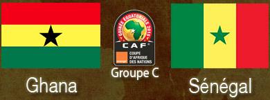 CAN 2015 :  Ghana VS Sénégal
