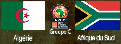 CAN 2015 :  Alg�rie - Afrique du Sud