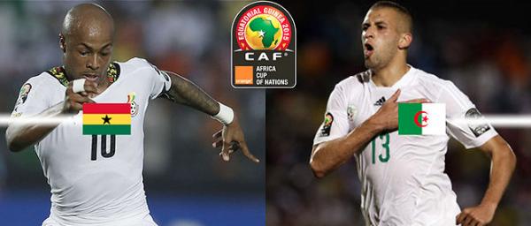 Match du jour : Ghana - Alg�rie & Afrique du Sud - S�n�gal