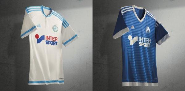 Adidas présente les nouveaux maillots de l'Olympique de Marseille