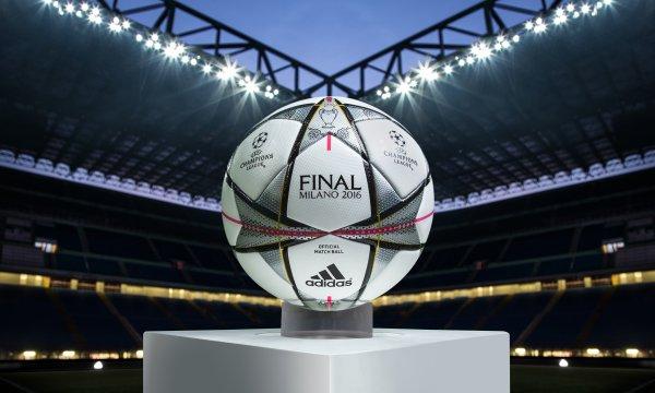 Finale Milano : le ballon officiel des matchs de la Ligue des Champions