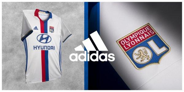 L'OL : les nouveaux maillots