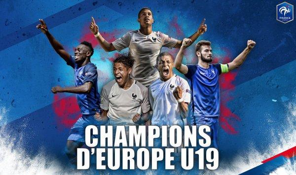 EURO U19 : ON EST CHAMPION D'EUROPE !