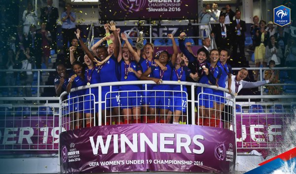 EURO U19 F�MININ : ON EST CHAMPION(NE) D'EUROPE !