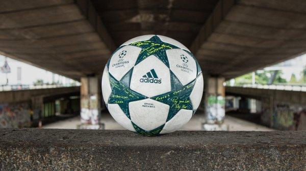 Adidas dévoile son nouveau ballon pour la Ligue des Champions !