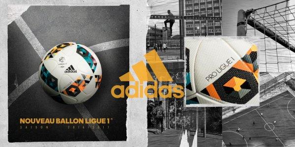 Le nouveau ballon de matchs officiels de la Ligue 1
