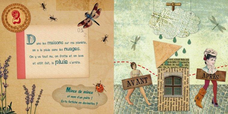 Devinettes sans queue ni tête, de Anne Le Maitre et Sandrine Lhomme chez Balivernes