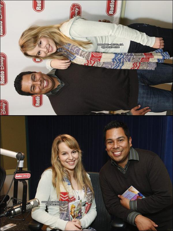 .       « Bridgit s'est encore une fois rendue à Radio Disney ce 28 Novembre 2010. Découvrez les photos ainsi que les vidéos. »         .