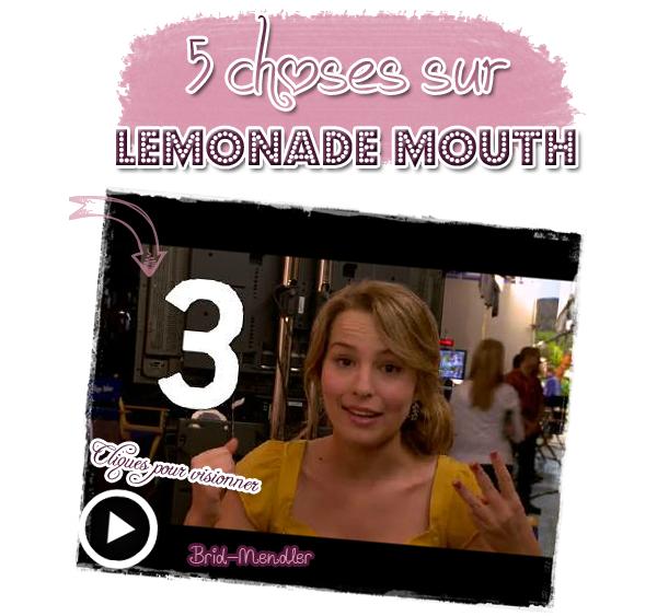 .        « Quelques news et infos de  Lemonade Mouth & Twitter ( récentes ) »                 .