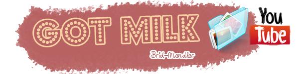 .        « Bridgit dans la pub pour Got Milk  récemment ( article associé )  »                 .