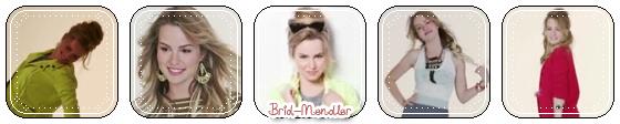 .        « Découvrez 2 vidéos expliquées & traduites par Brid - Mendler ( Seventeen Magazine + Londres )  »                 .