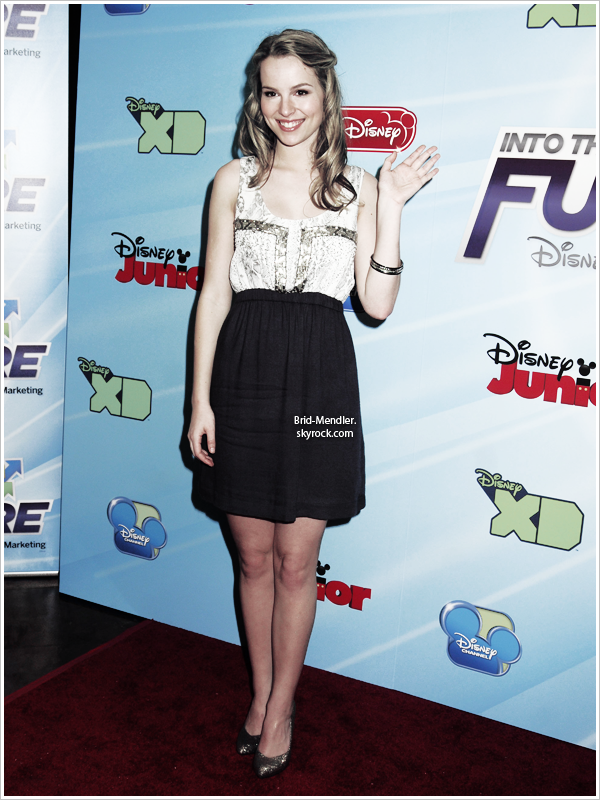 .        « Bridgit au Disney Channel World Wide Kids Upfront ce  13 Mars 2012  »                 .