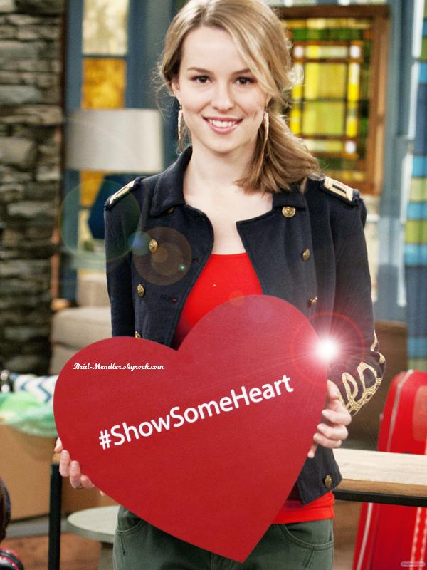 Le cast de Bonne Chance Charlie veut que vous preniez part à la campagne Show Some Heart.